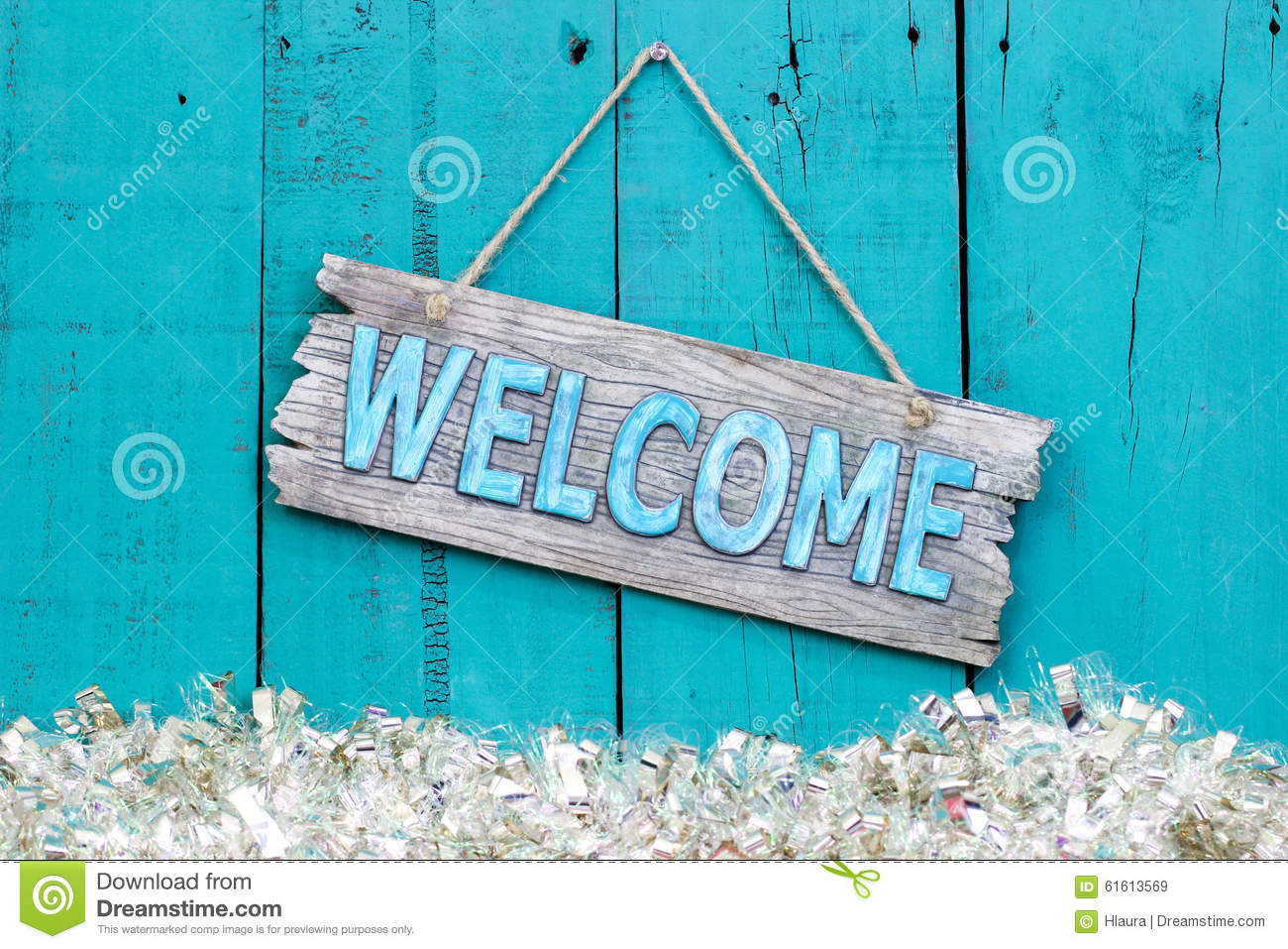 Holiday Welcome Sign Stock Image Image Of Greetings