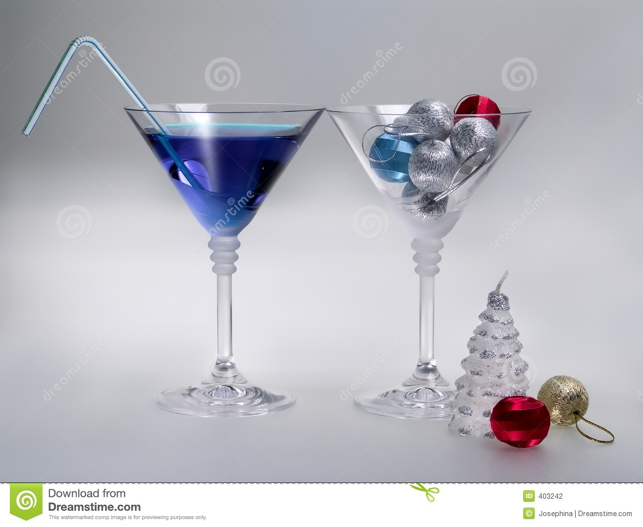 Holidays cocktail