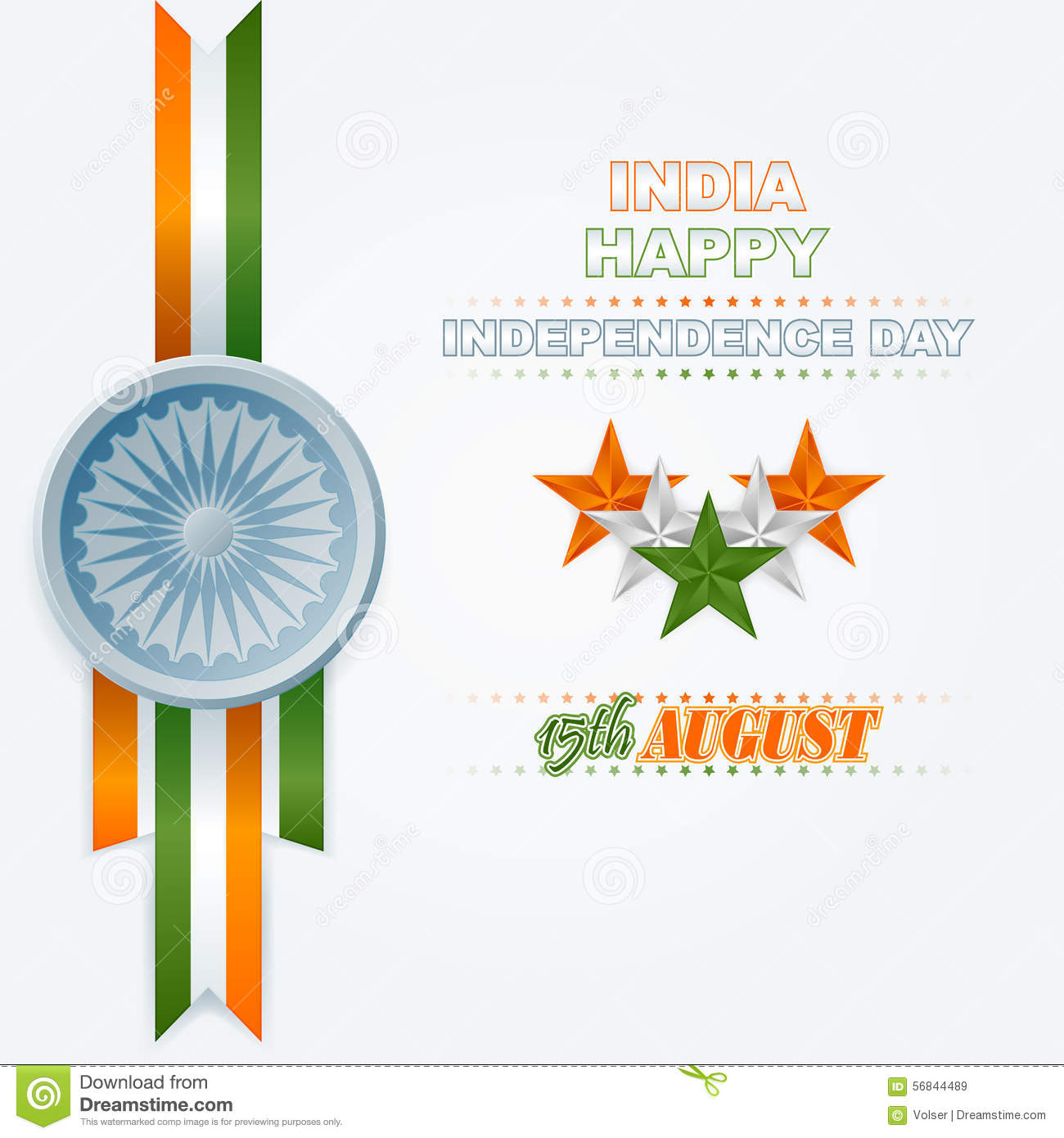 Holidays Layout Template With National Celebration Of India Stock ...