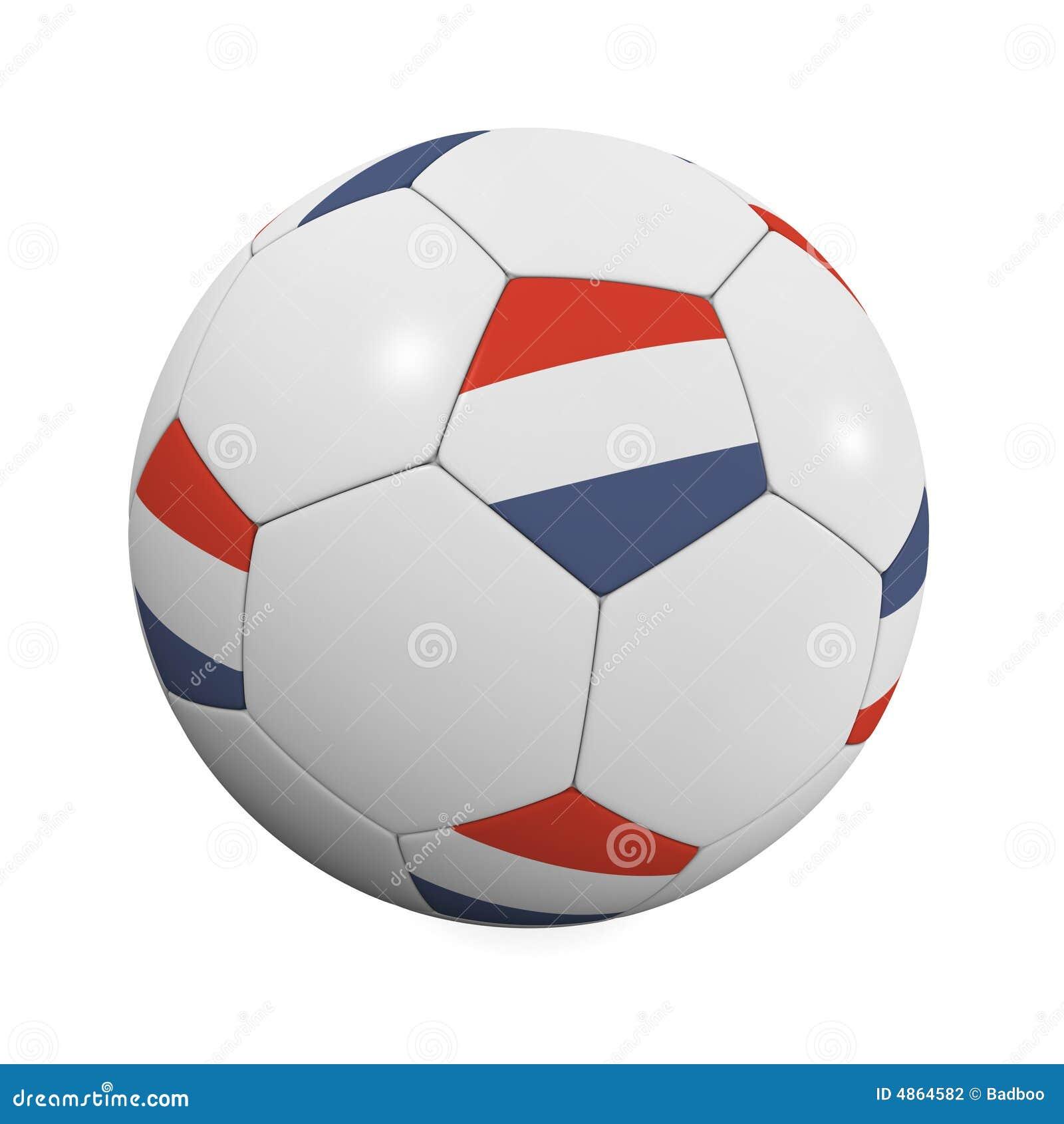 Holländische Fußball-Kugel