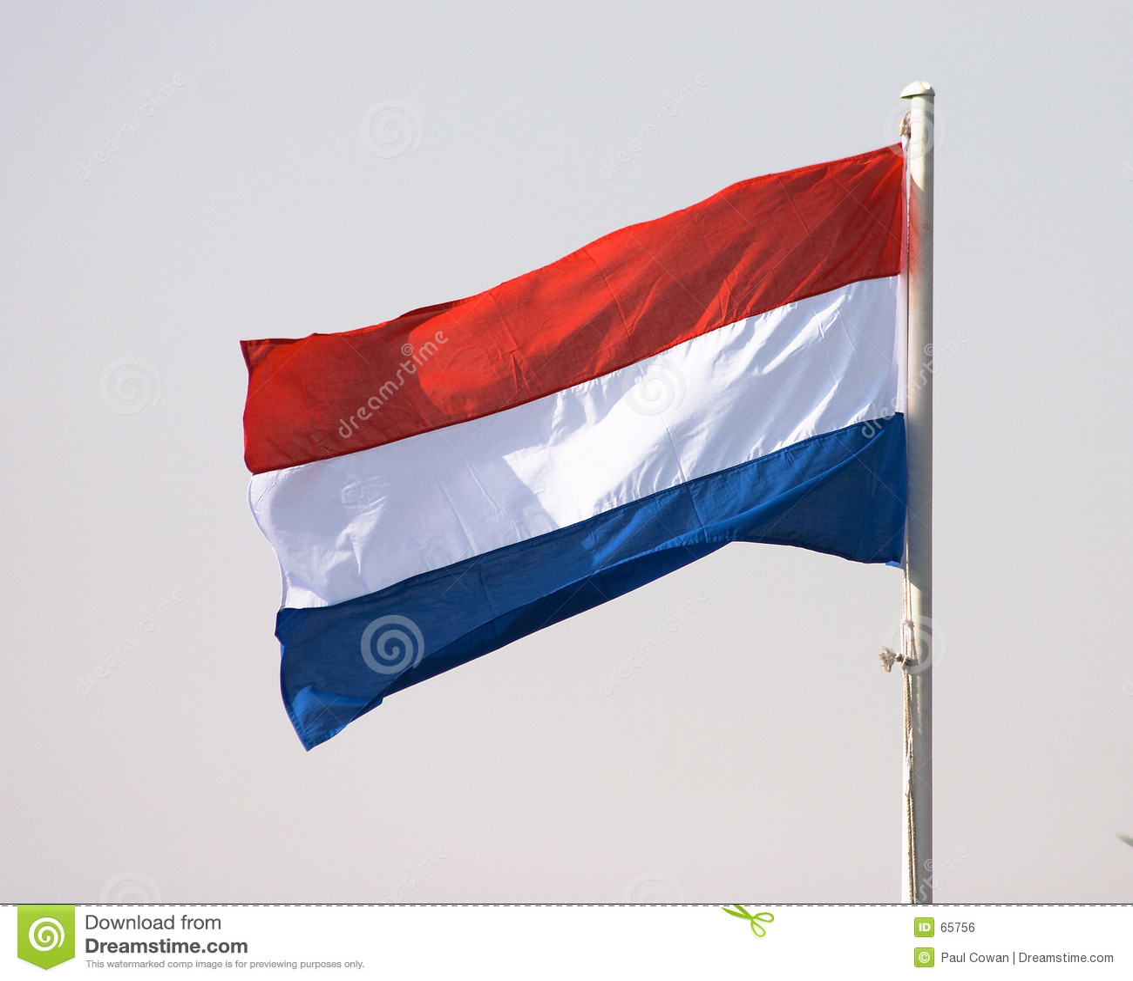 Holländische Markierungsfahne