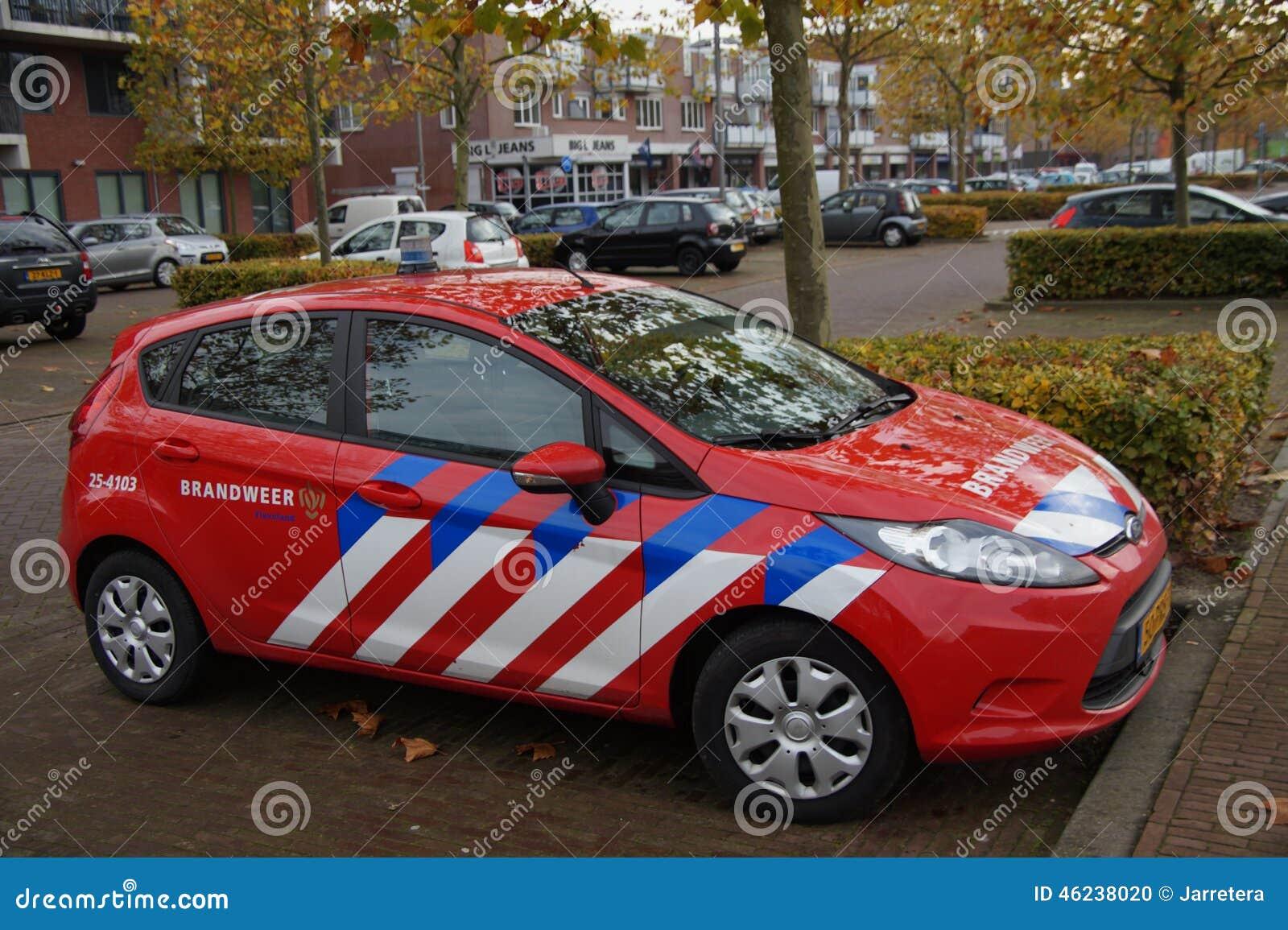 Holländskt parkerat brandstridighetmedel -