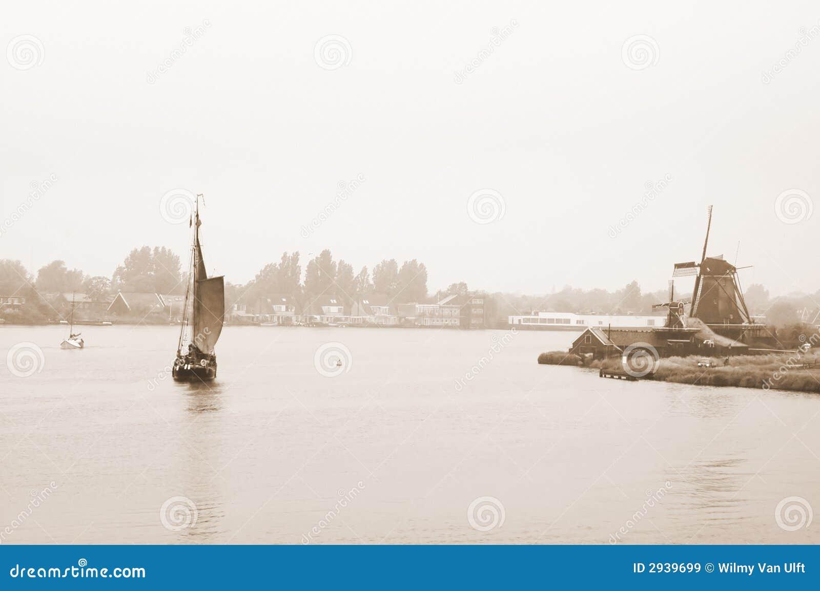 Holland im Sepia