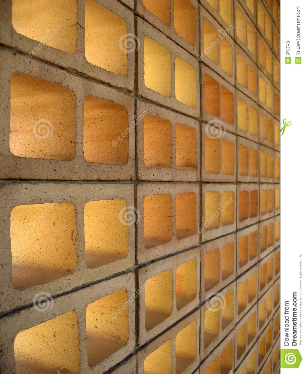Hollow Bricks Stock Photo Image Of Partition Barrier