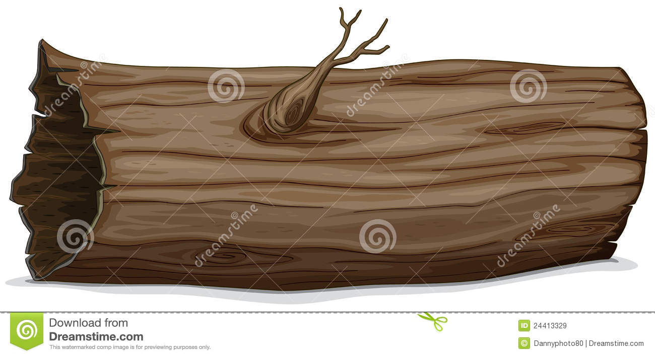 Hollow log royalty free stock images image