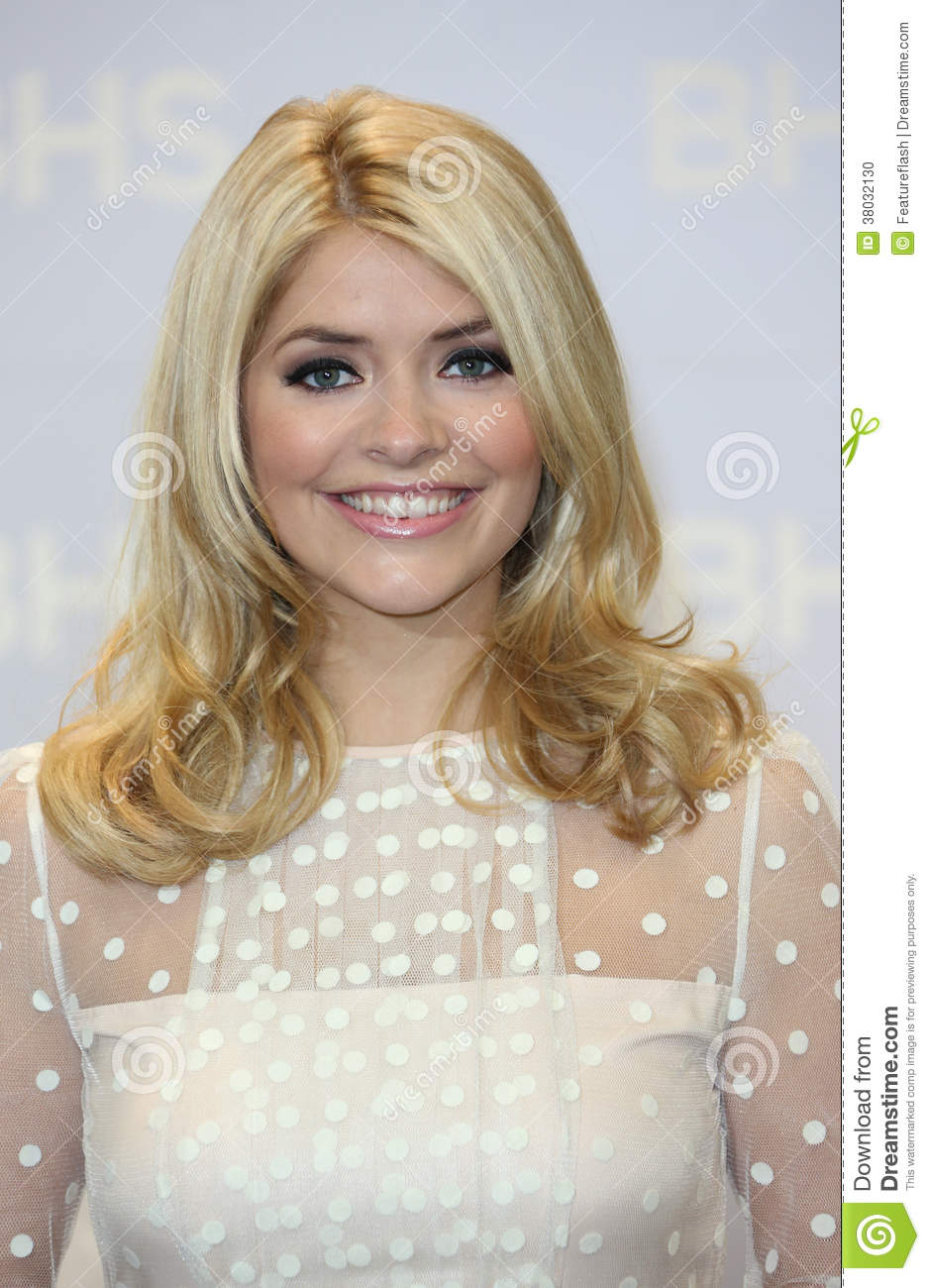 Holly Willoughby for the Home launch held at BHS London. 21/11/2013 ...
