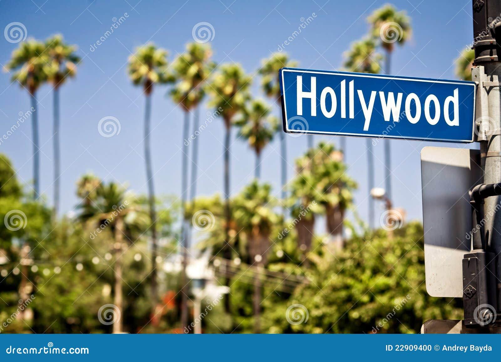 Hollywood σημάδι Λα