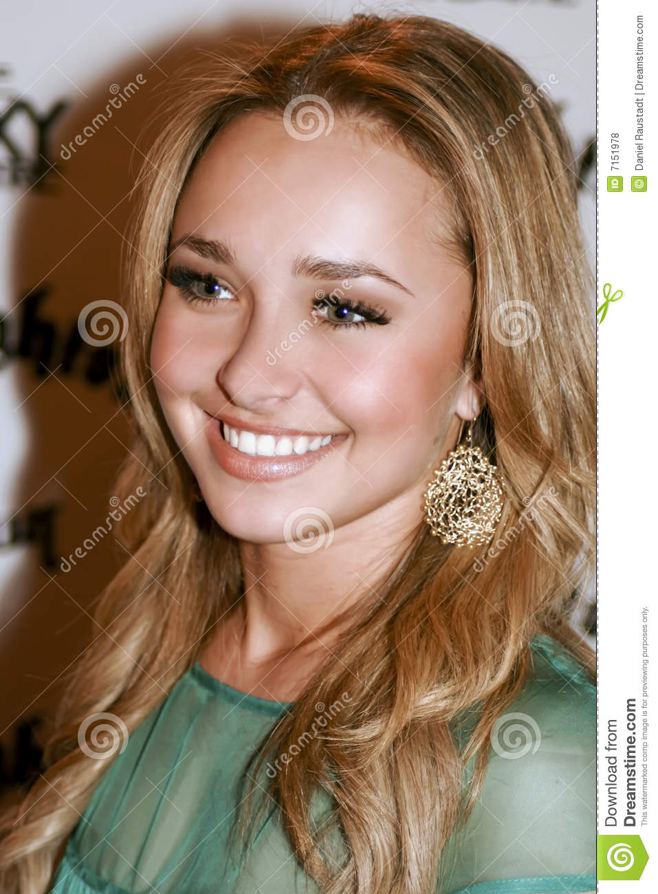 Hollywood Actress Hayden Panettiere Editorial Stock Photo