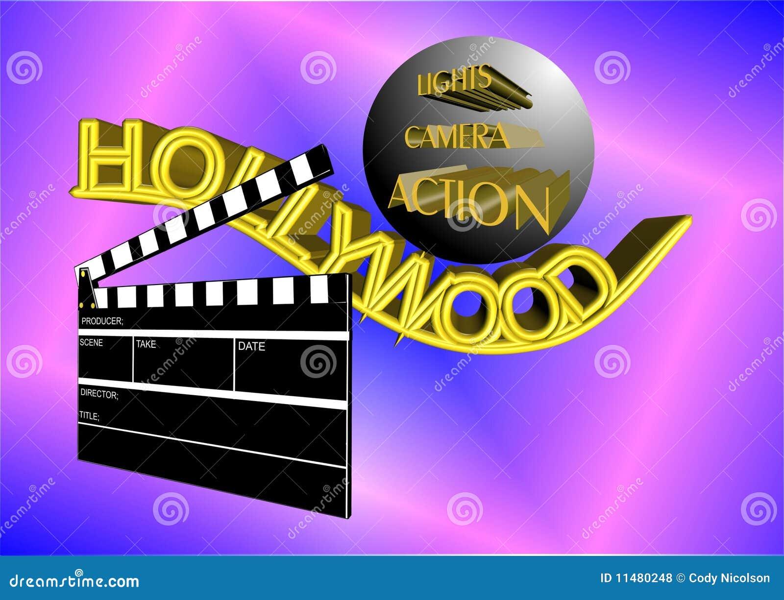 Hollywood affisch