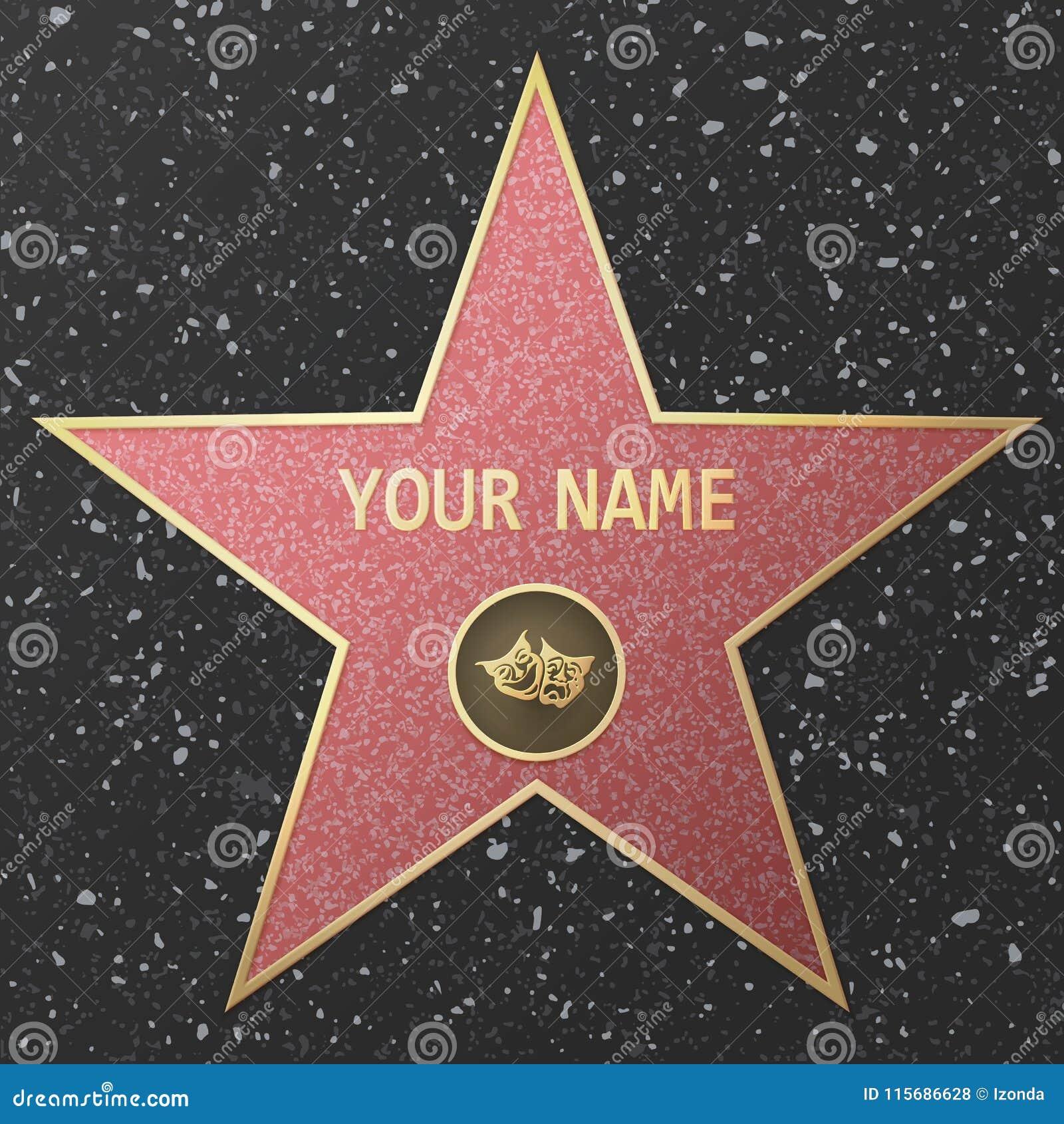 Hollywood berömmelsestjärna