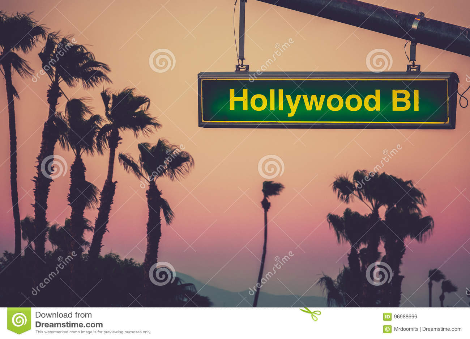 Hollywood Blvdtecken