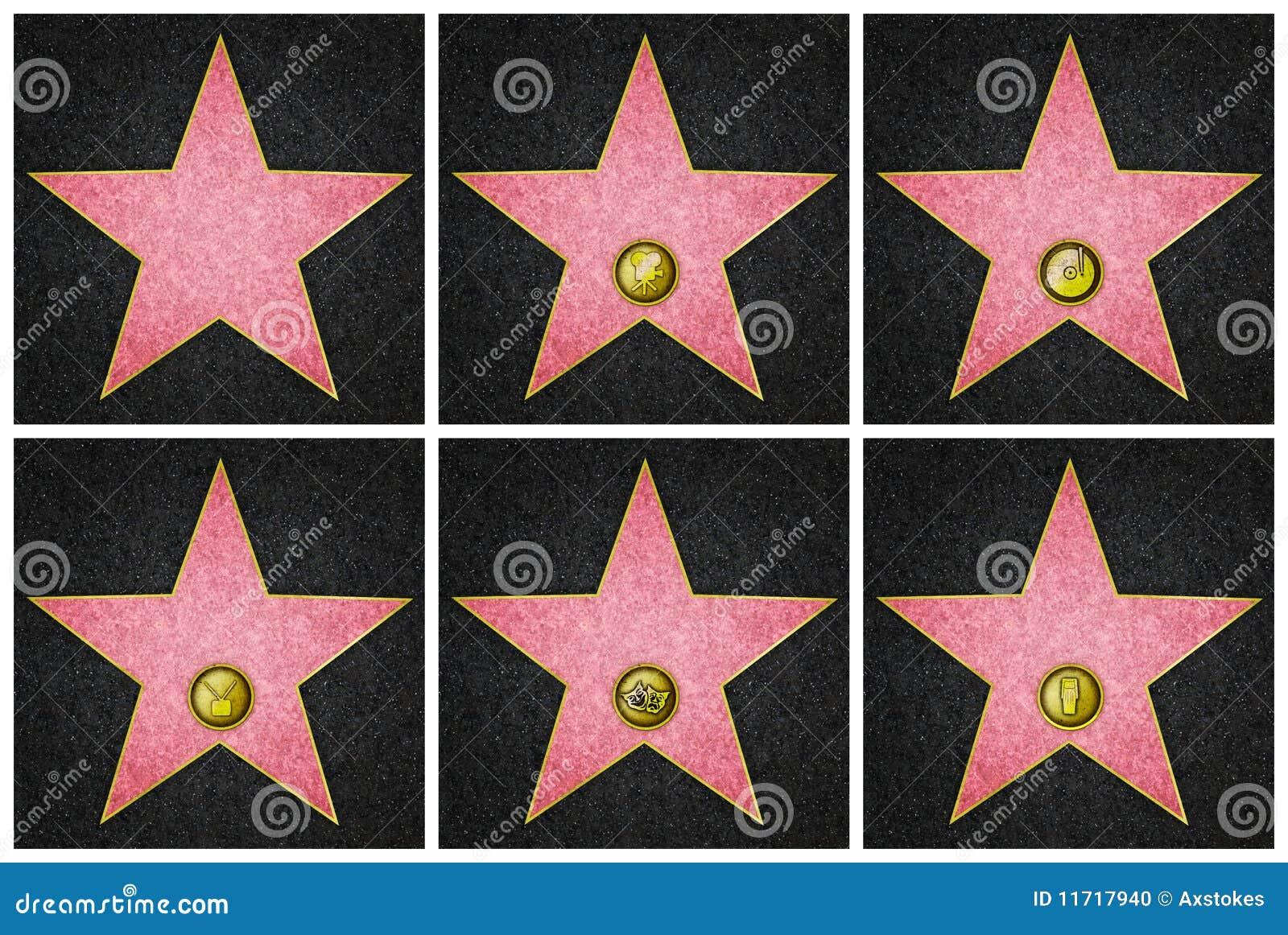 Hollywood Boulevardstjärnor