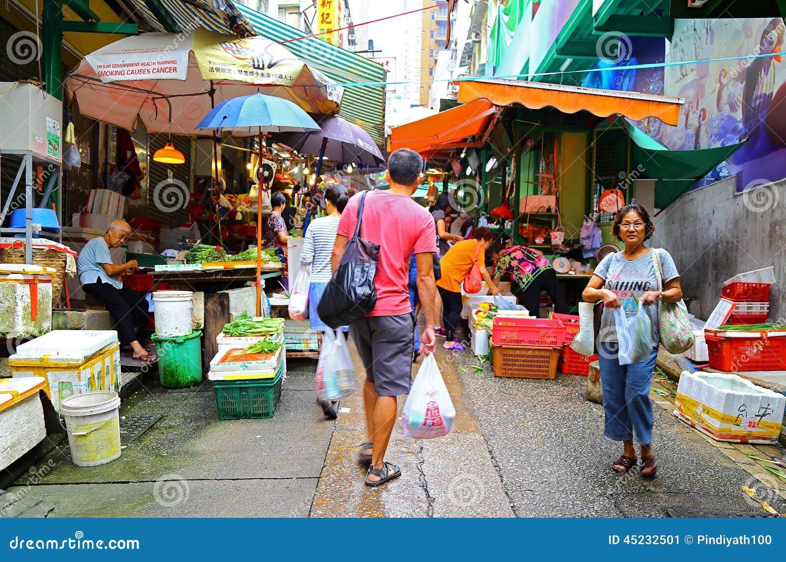 Hollywood drogi rynek, Hong kong