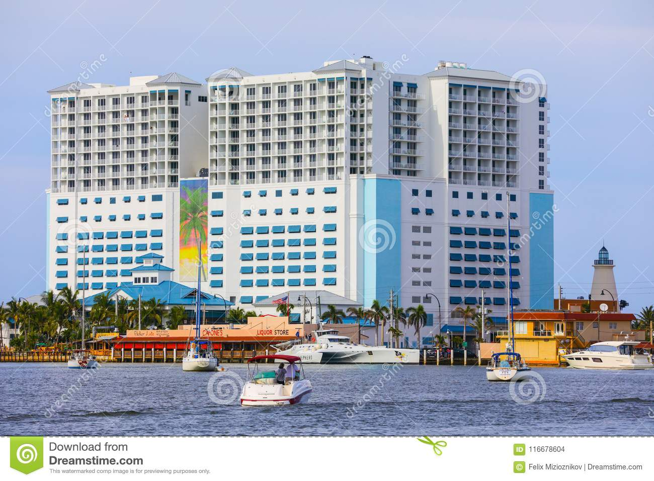 Image Of Margaritaville Resort Hollywood Beach Florida With