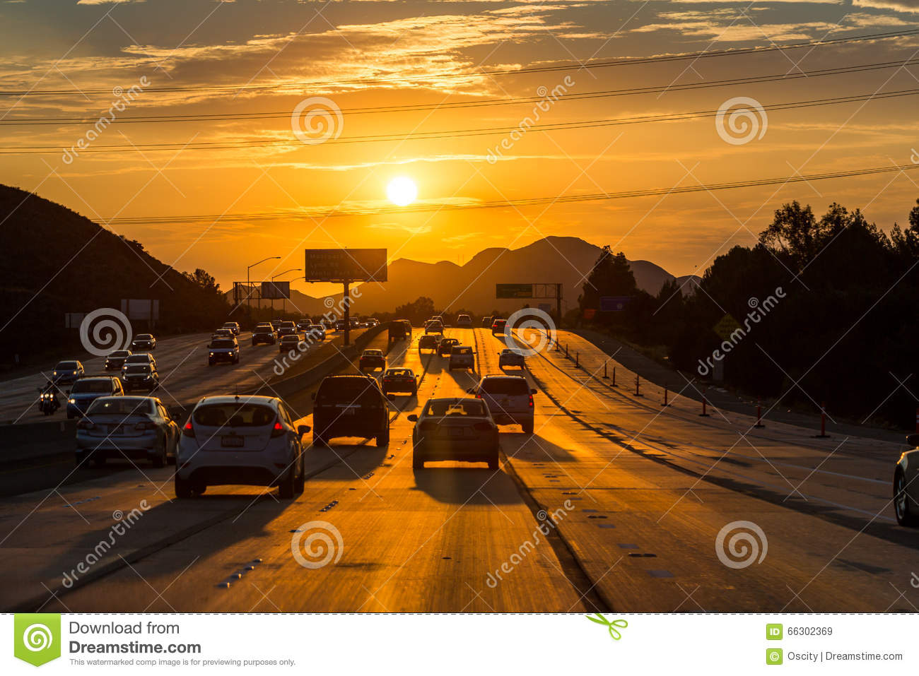 HOLLYWOOD, LOS ANGELES Editorial Stock Image. Image Of