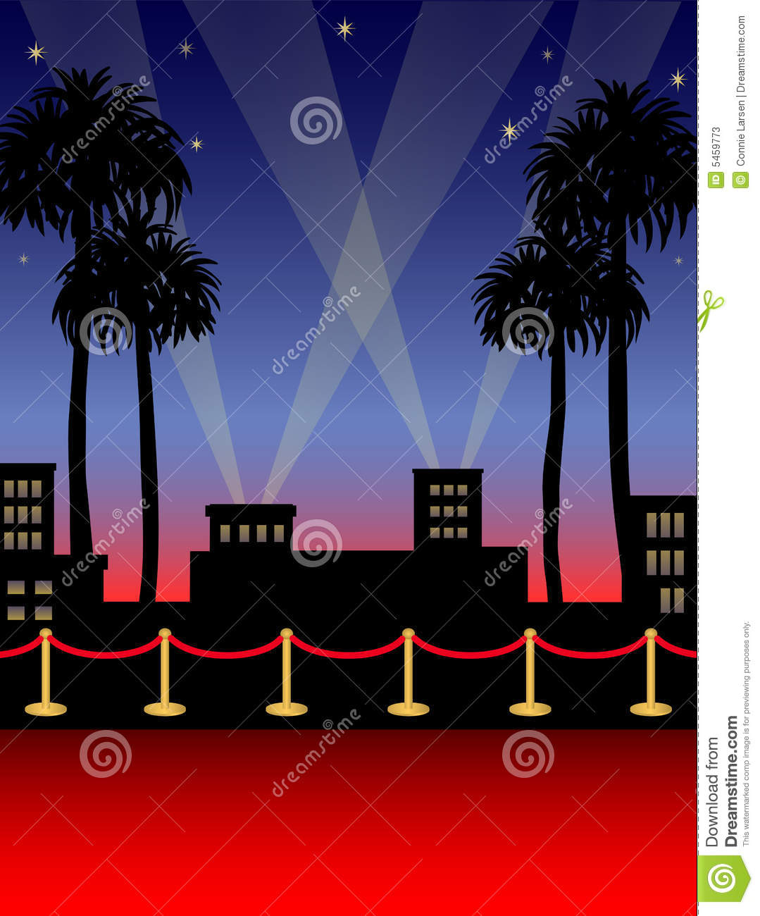 Hollywood Red Carpeteps Stock Photos Image 5459773
