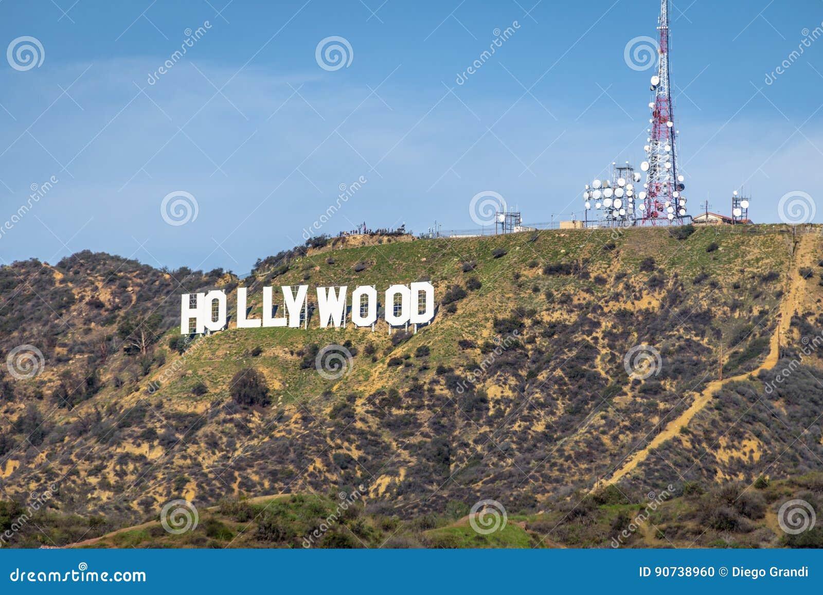 Hollywood-Schriftzug - Los Angeles, Kalifornien, USA