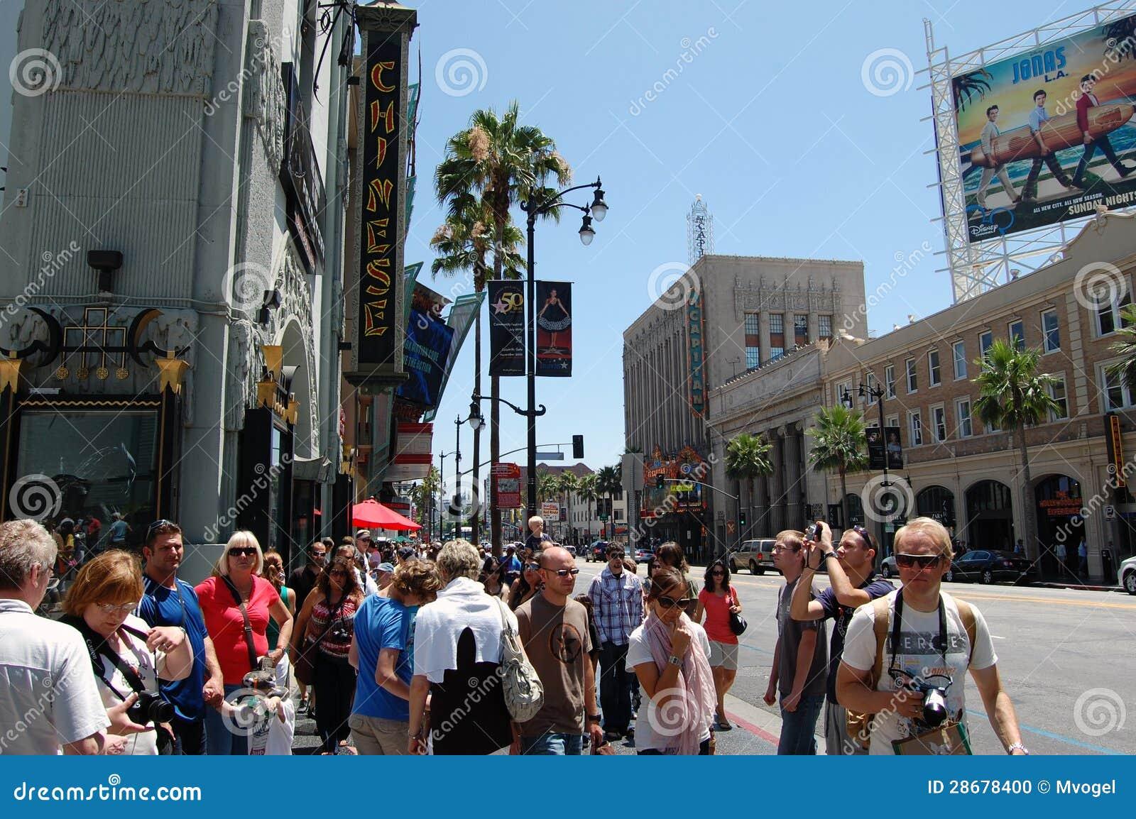 Hollywood spacer sława