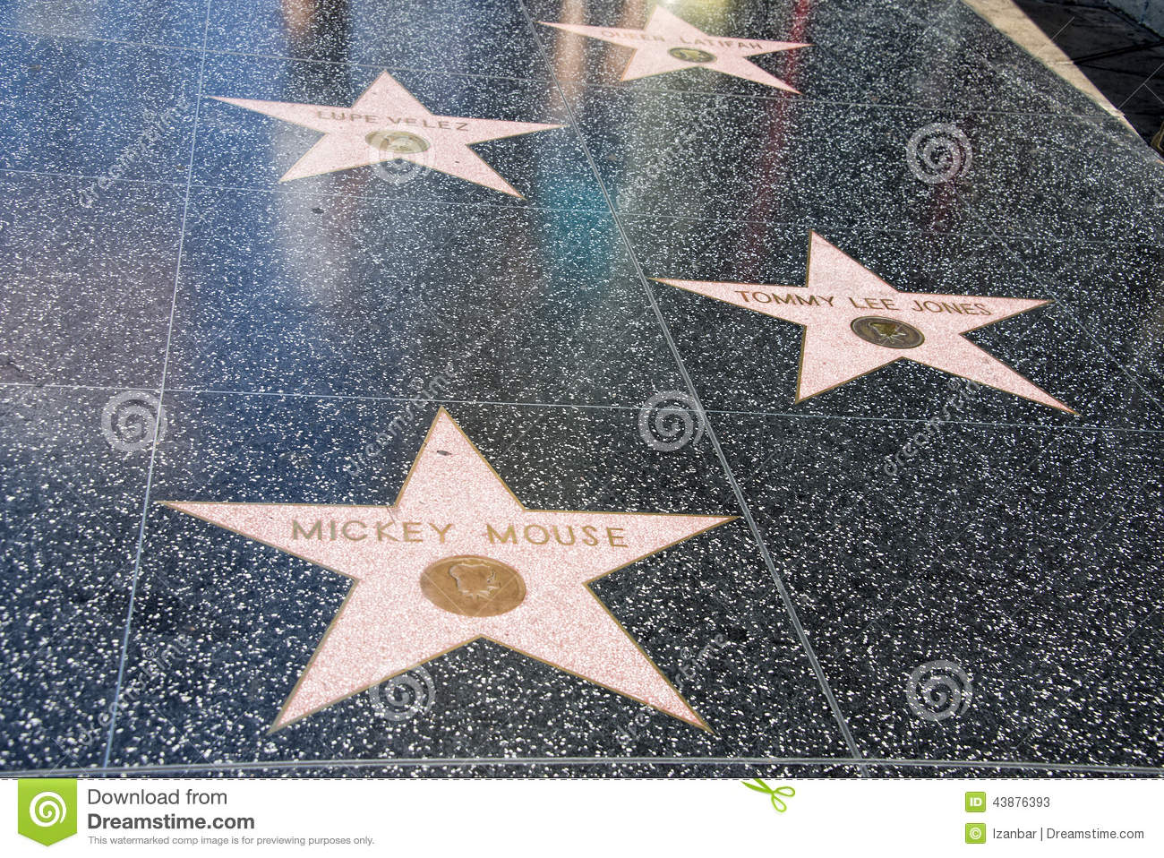 Hollywood spacer sława Mickey Mouse