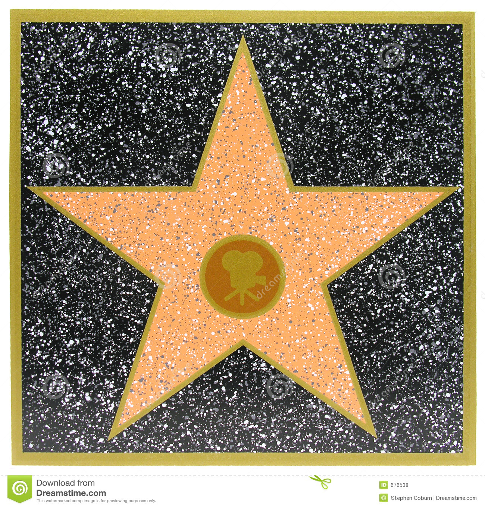 hollywood star royalty free stock photos   image 676538