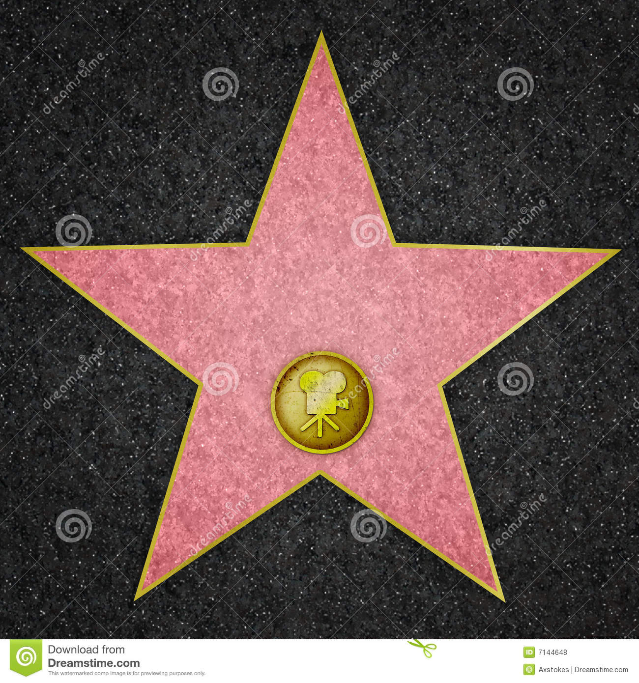 hollywood star   film star royalty free stock photos