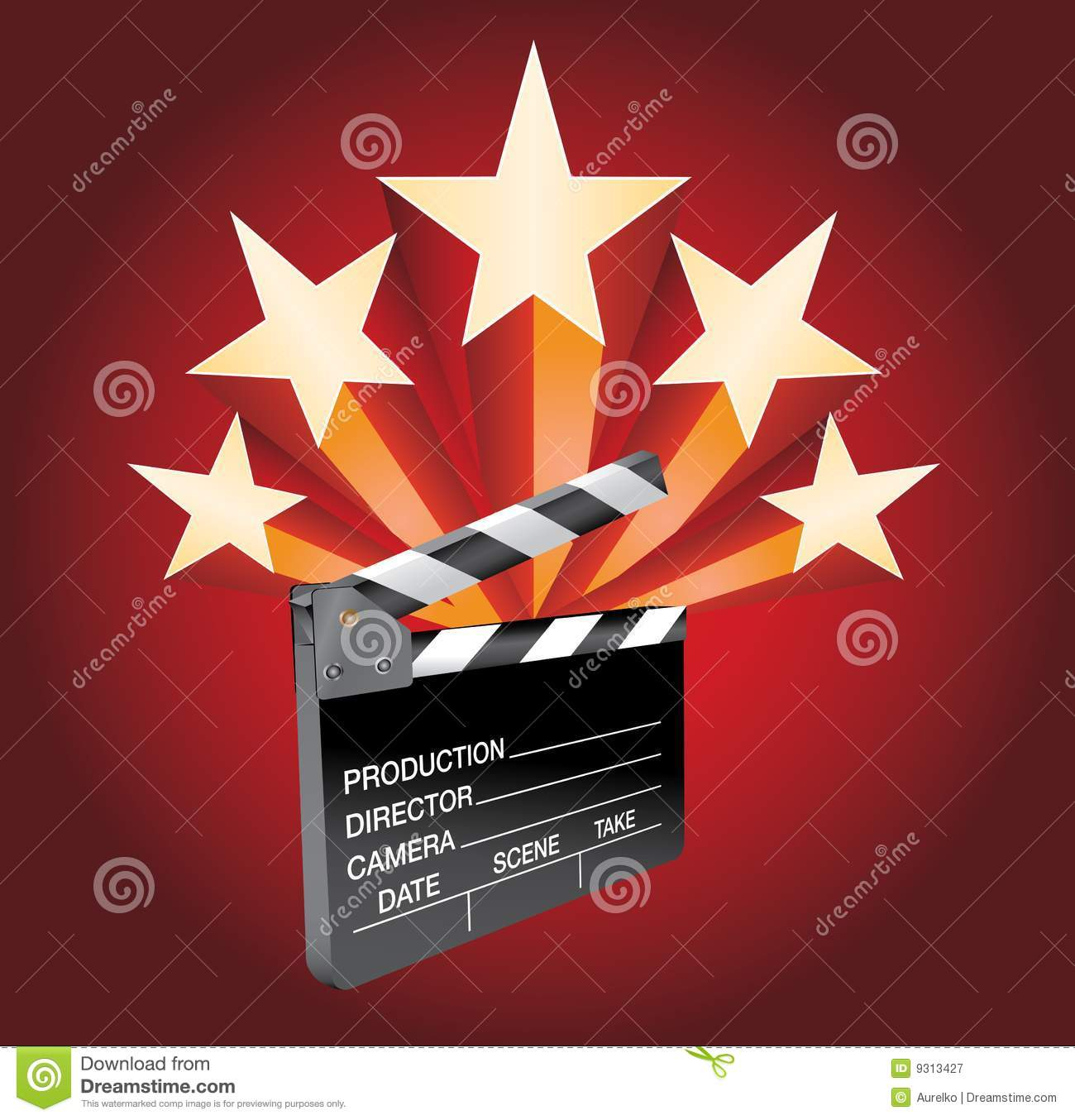 Hollywood Stars Royalty Free Stock Photography Image