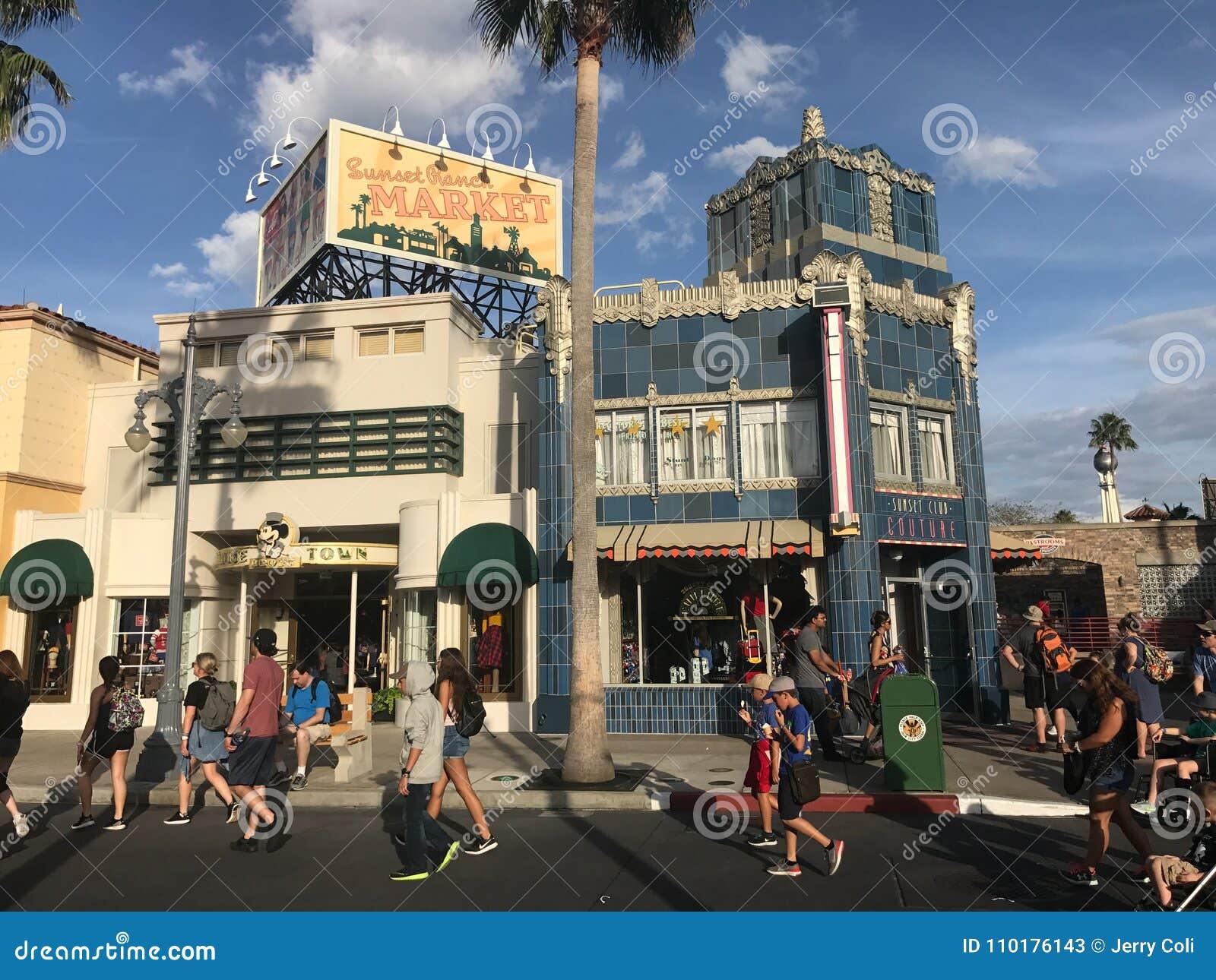 Hollywood studior