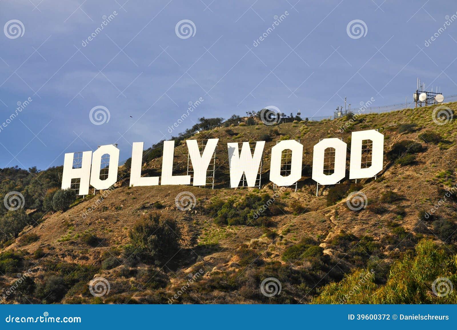 Hollywood tecken