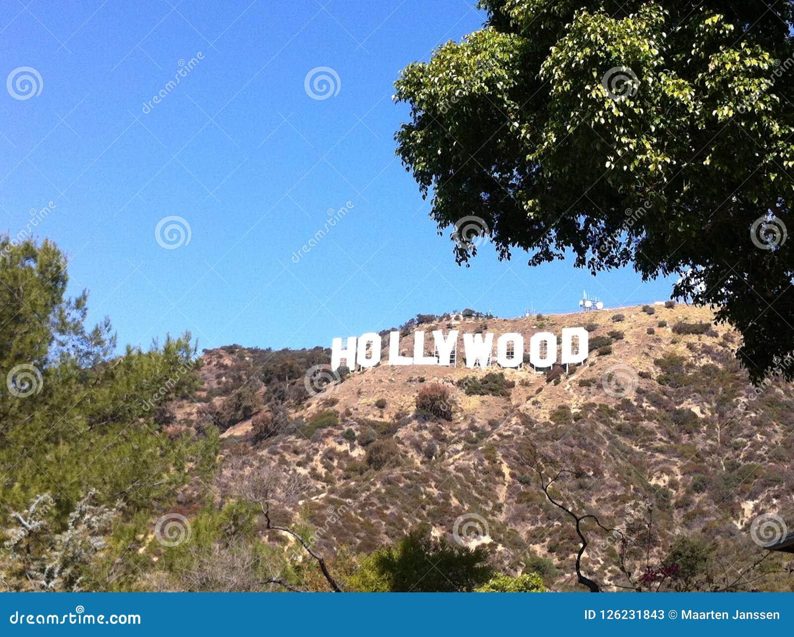 Hollywood teckenLA