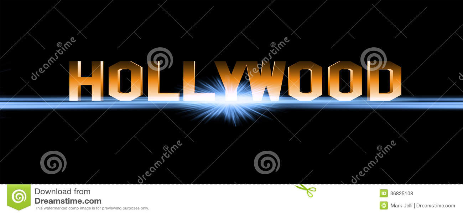Hollywoodteken