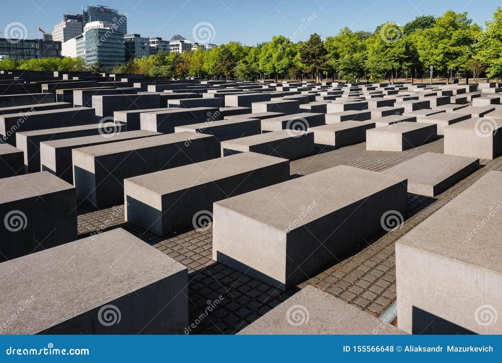Holocausto Berlin Germany Memorial conmemorativo a los jud?os asesinados de Europa