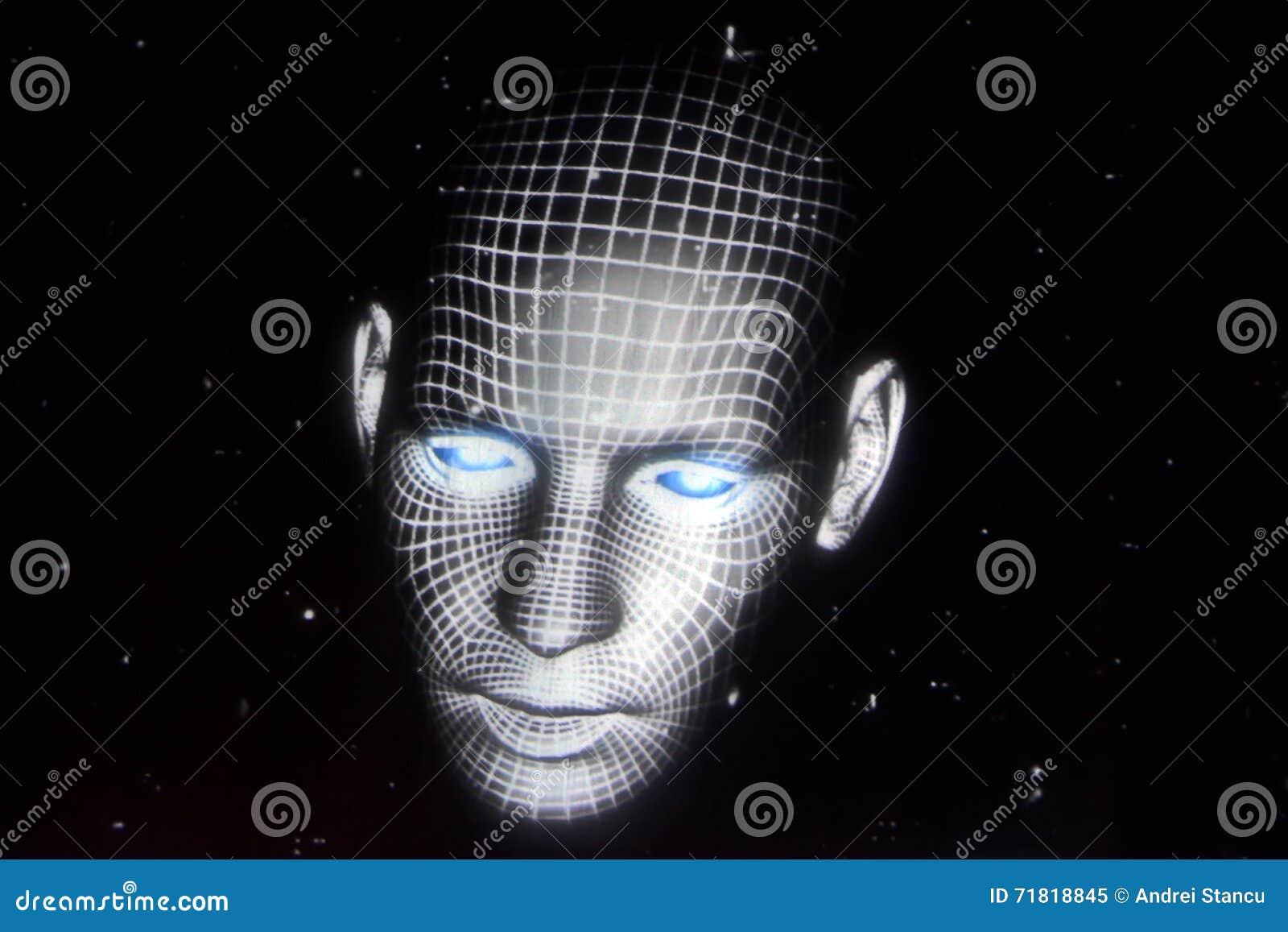 Holografisch Gezicht