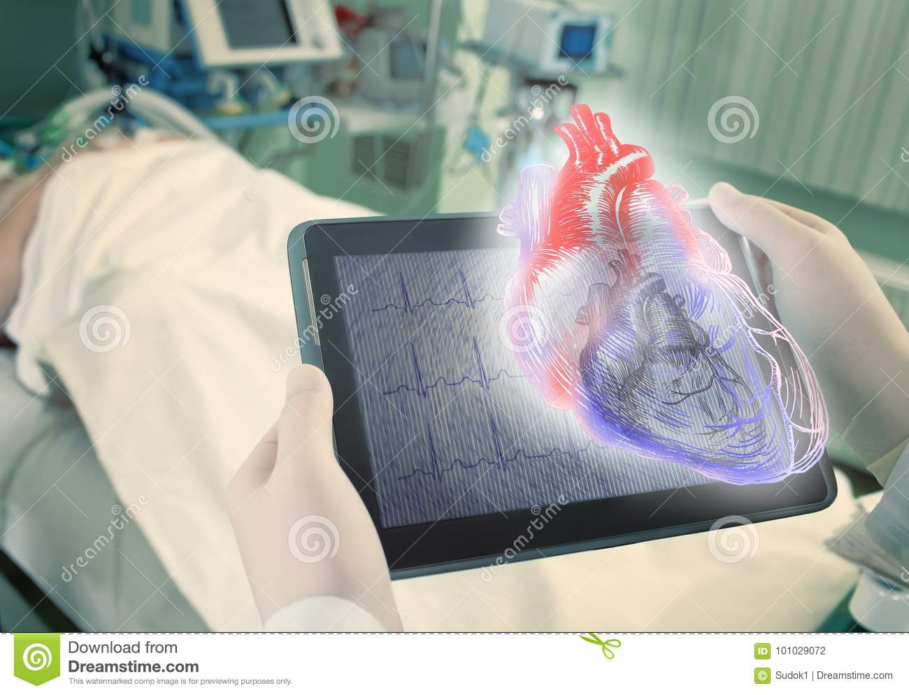 Hologram of human heart as a new age technologies in medical sci
