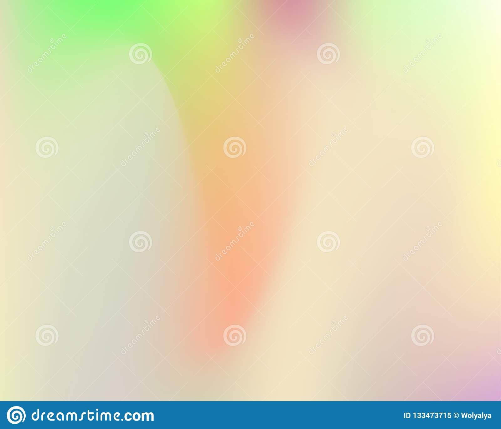 Hologramme tramé d arc-en-ciel