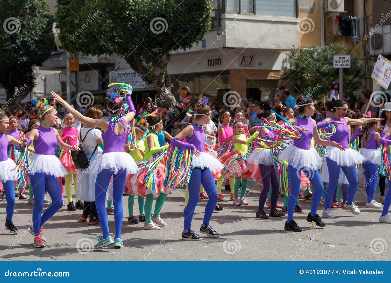 Holon Adloyada. Purim Carnaval. Israël