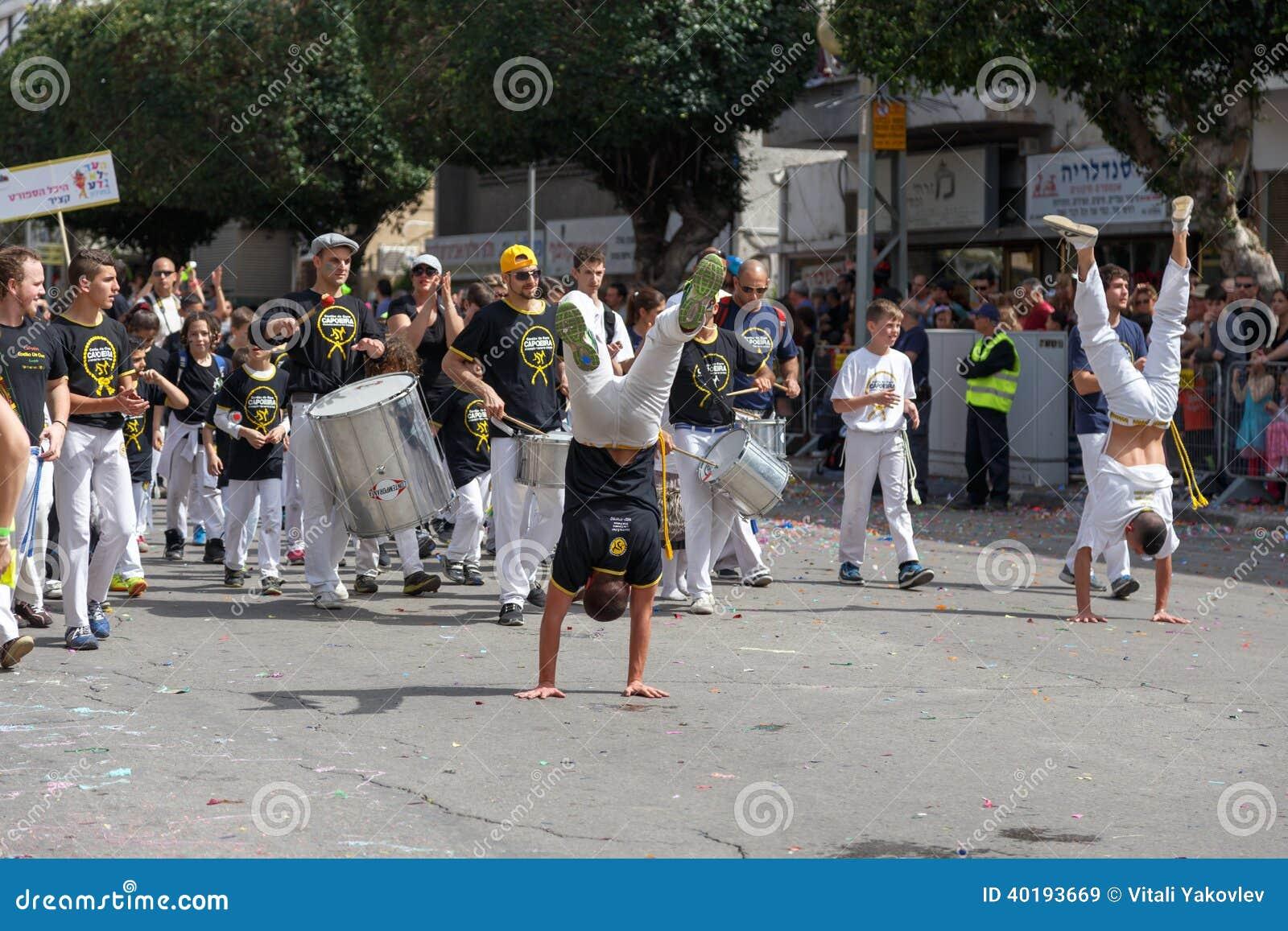 Holon Adloyada. Purim karneval. Israel