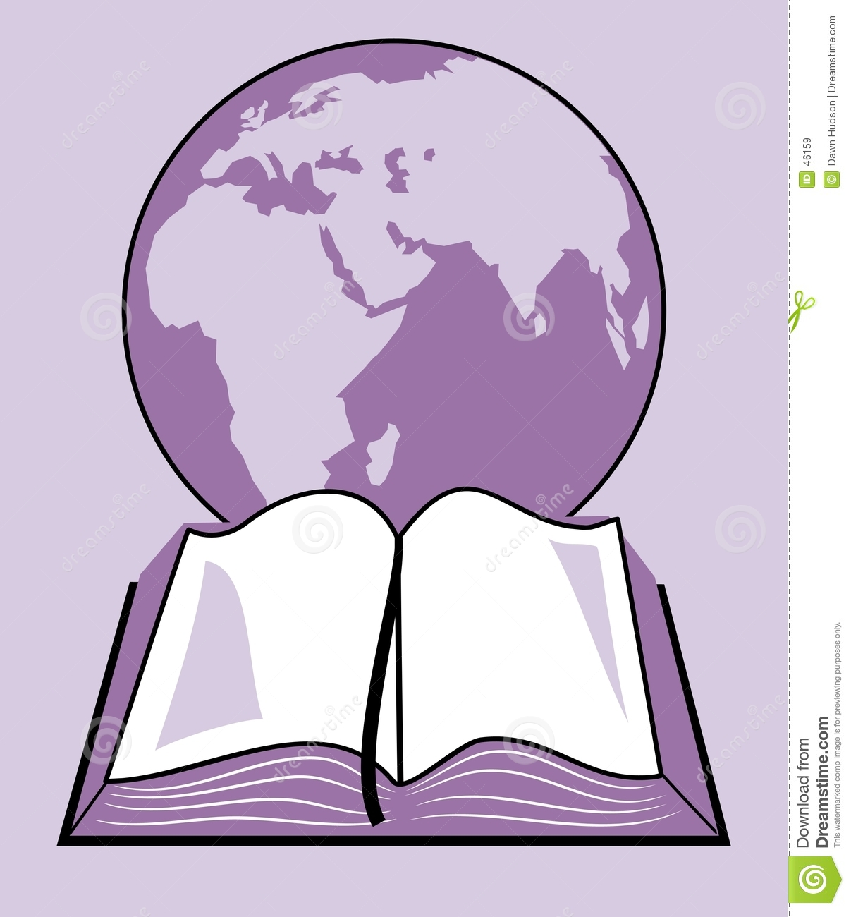 Holy Bible Clip Art Holy bible and world globe