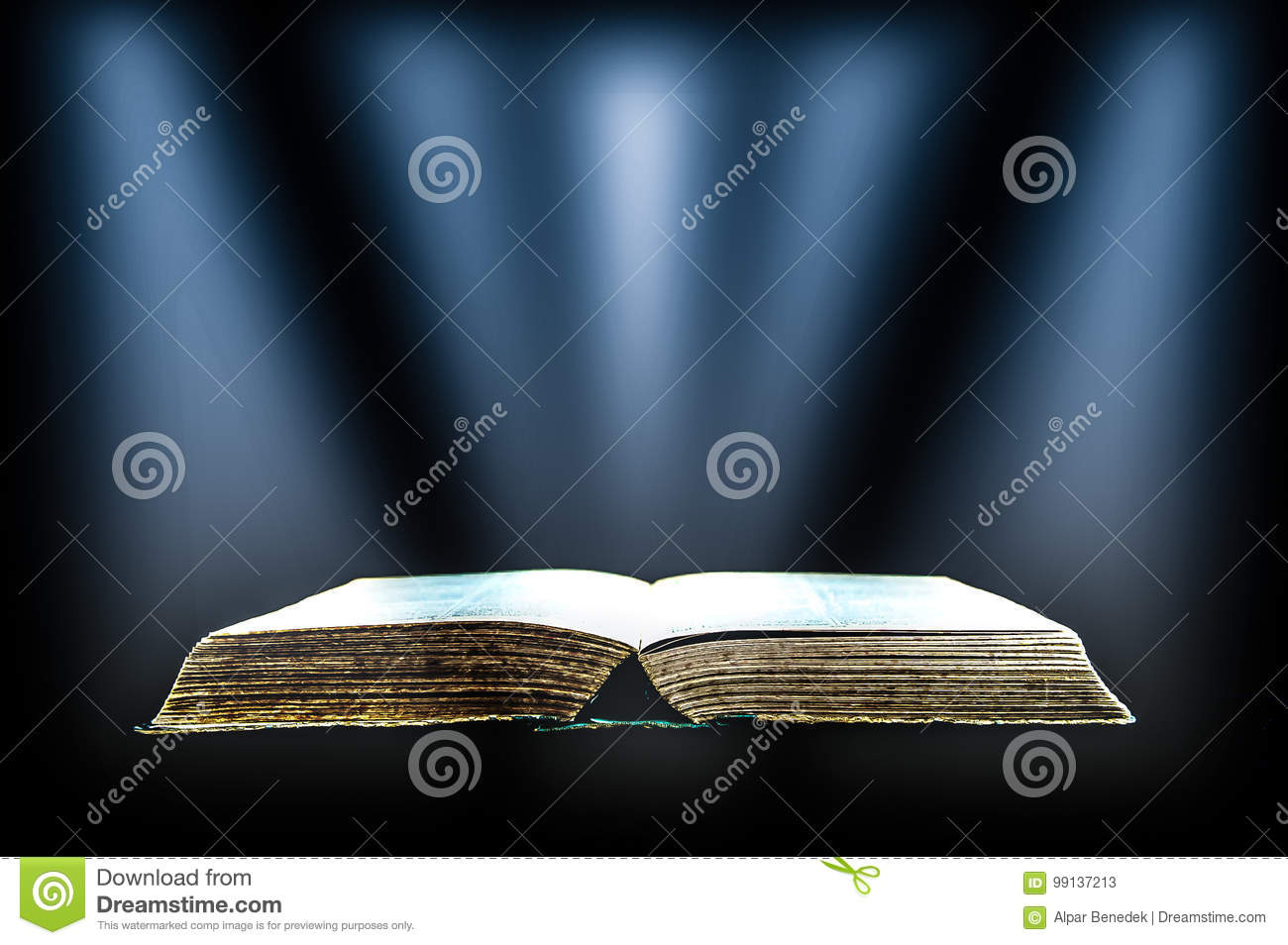 Holy Book stock image  Image of books, miracle, bright - 99137213