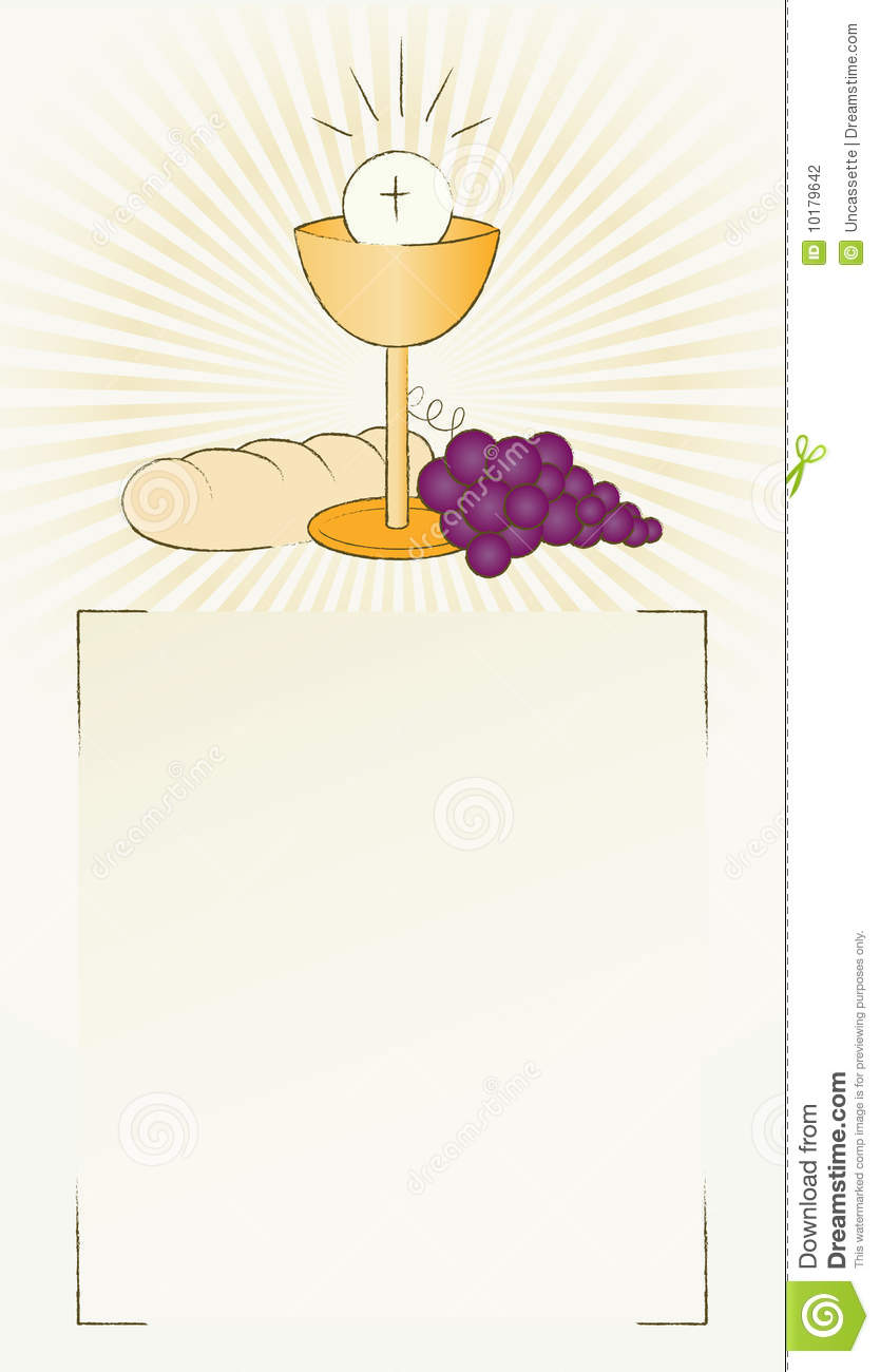 More similar stock images of ` Holy Communion Bread, wine and chalice ...