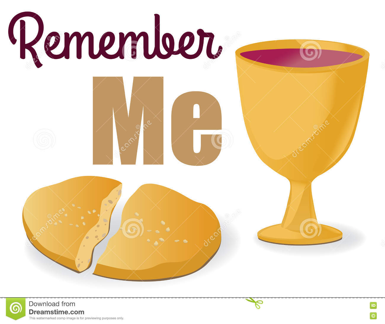 Holy Communion Stock Vector Illustration Of Christianity 75934467