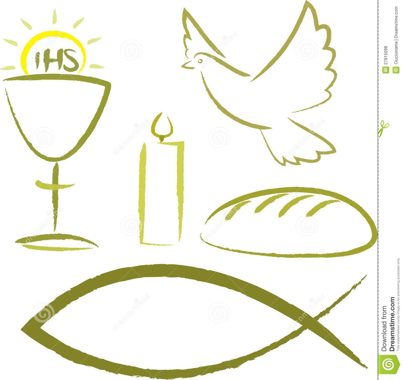 Symbols For Holy Eucharist http://www.dreamstime.com/royalty-free-stock-photos-holy-communion-religious-symbols-image27815098