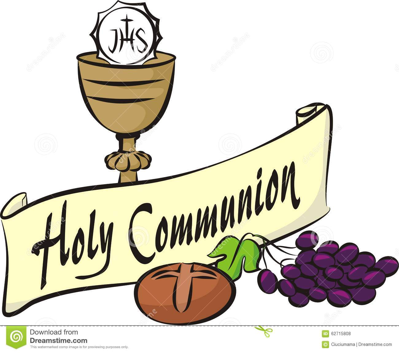 Holy communion stock vector. Illustration of christian ...