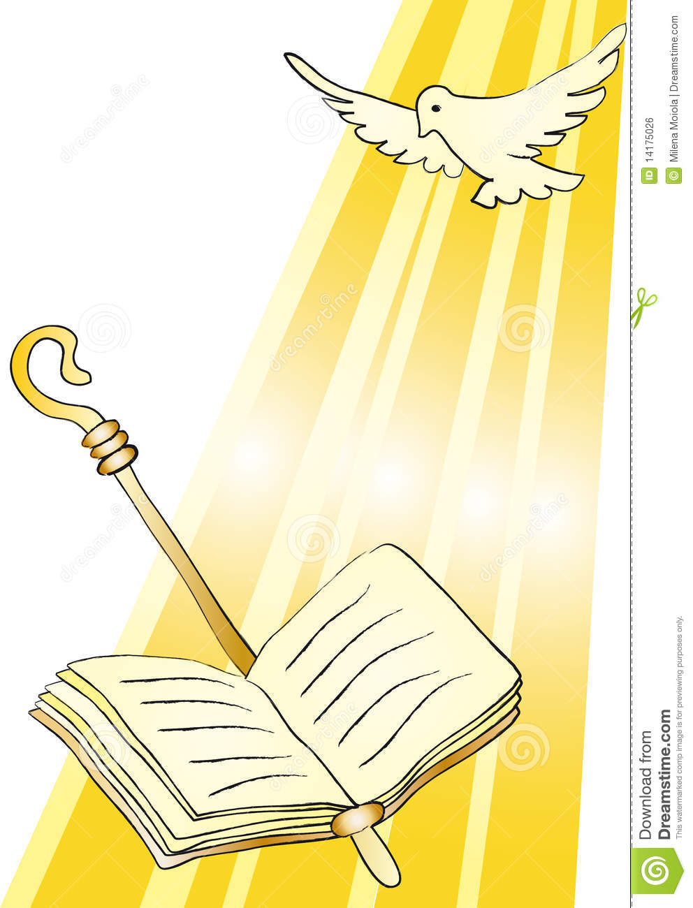 Holy Confirmation Royalty Free Stock Image - Image: 14175026