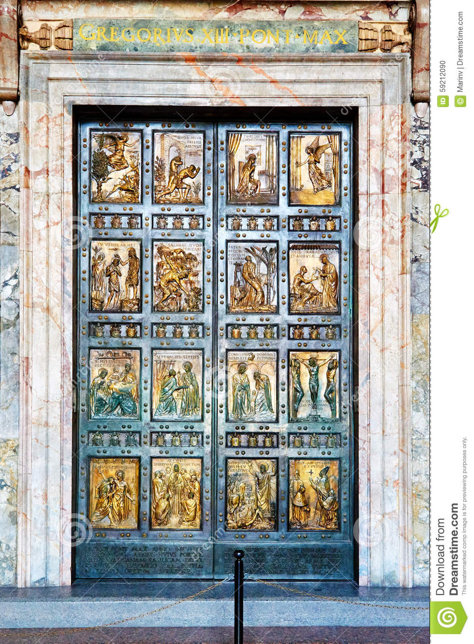 The Holy Door Is The Northern Entrance At St Peter S