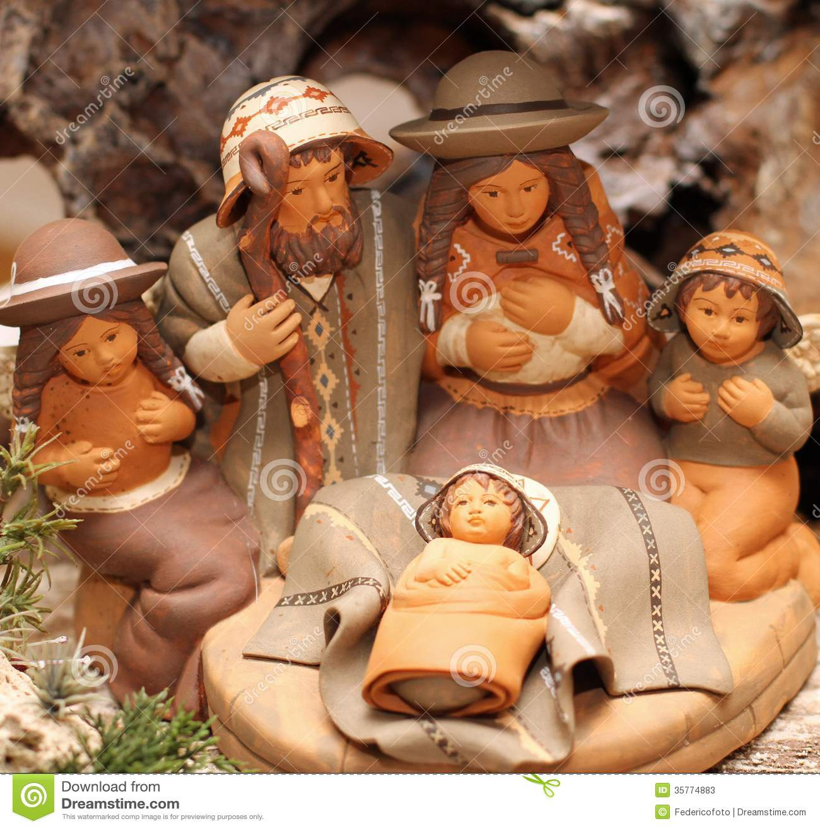 Family Of 4 Christmas Ornament