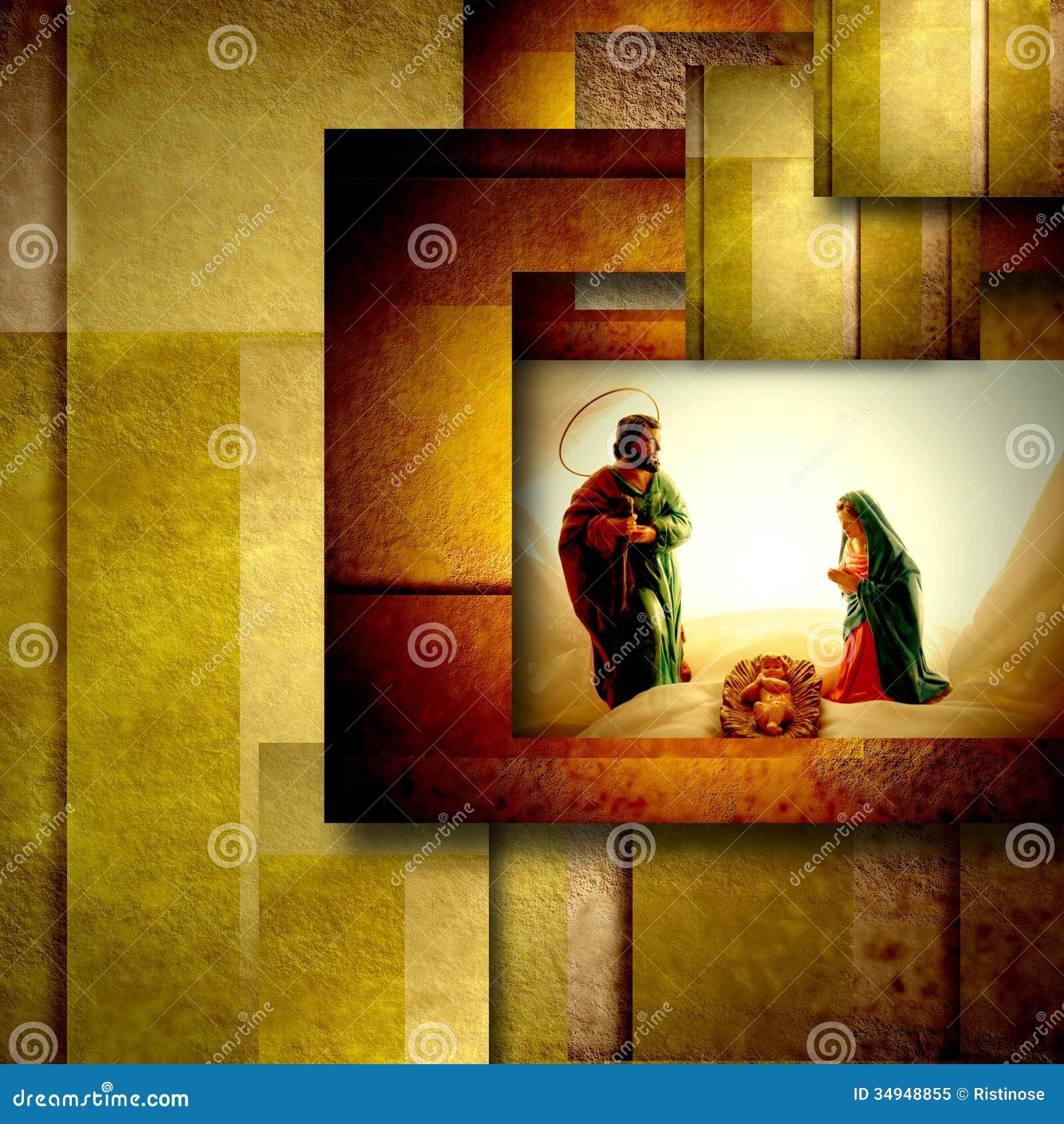holy family christmas card stock image  image of christmas