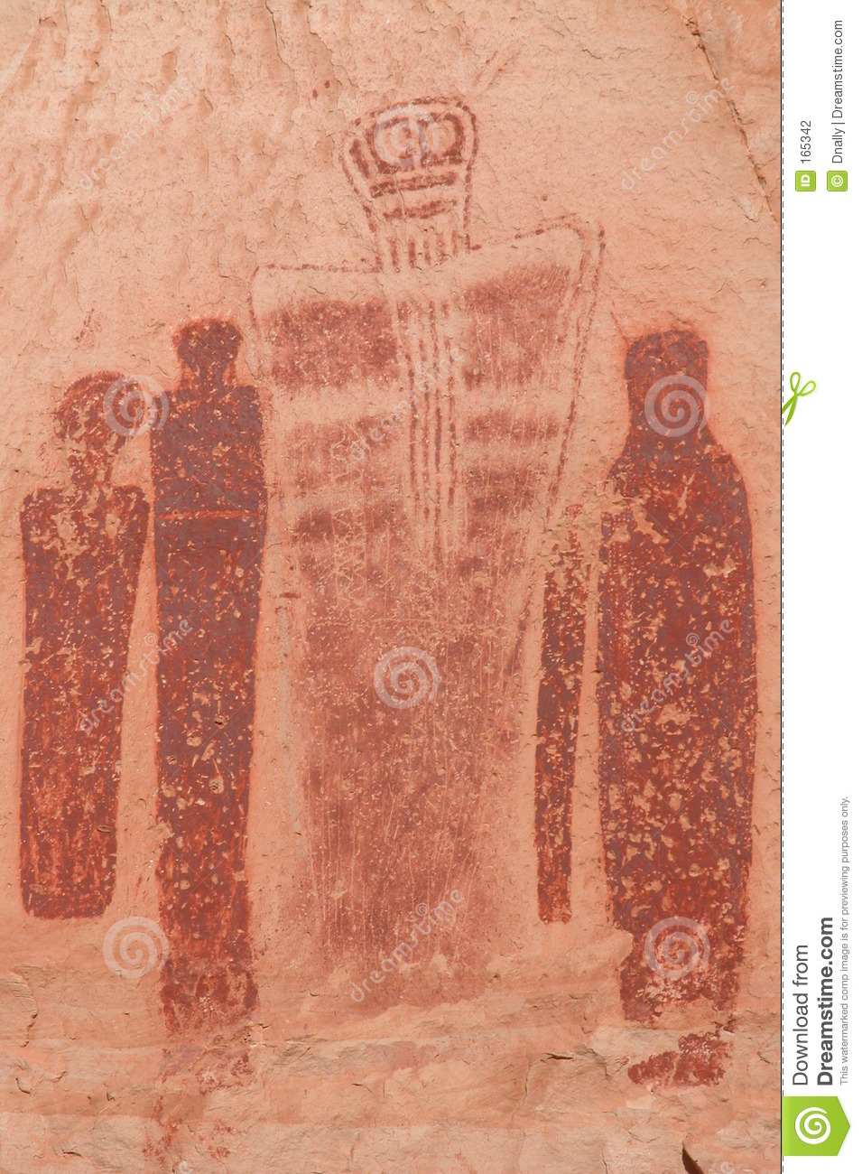 Holy Ghost Pictograph