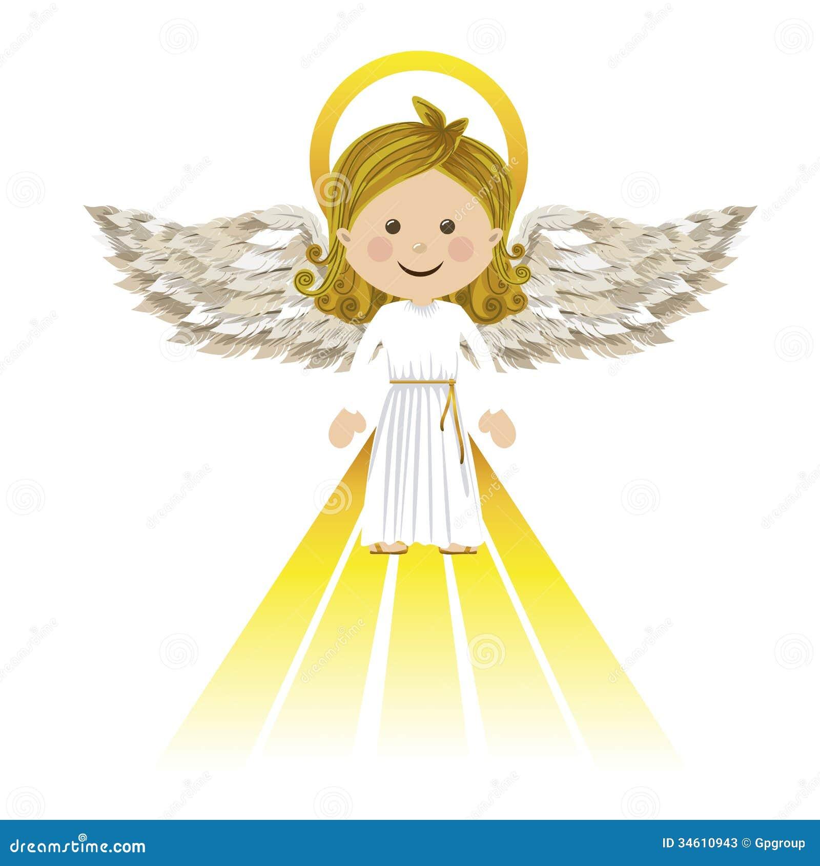 Holy Guardian Angel Stock Photos