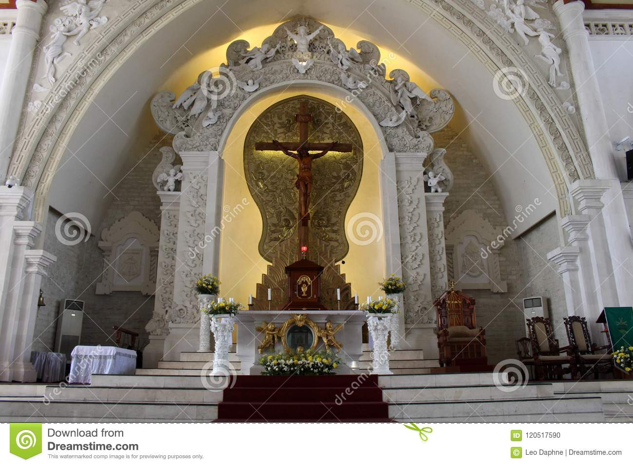 The Holy Spirit Cathedral Of Catholic Church In Bali  Beautiful