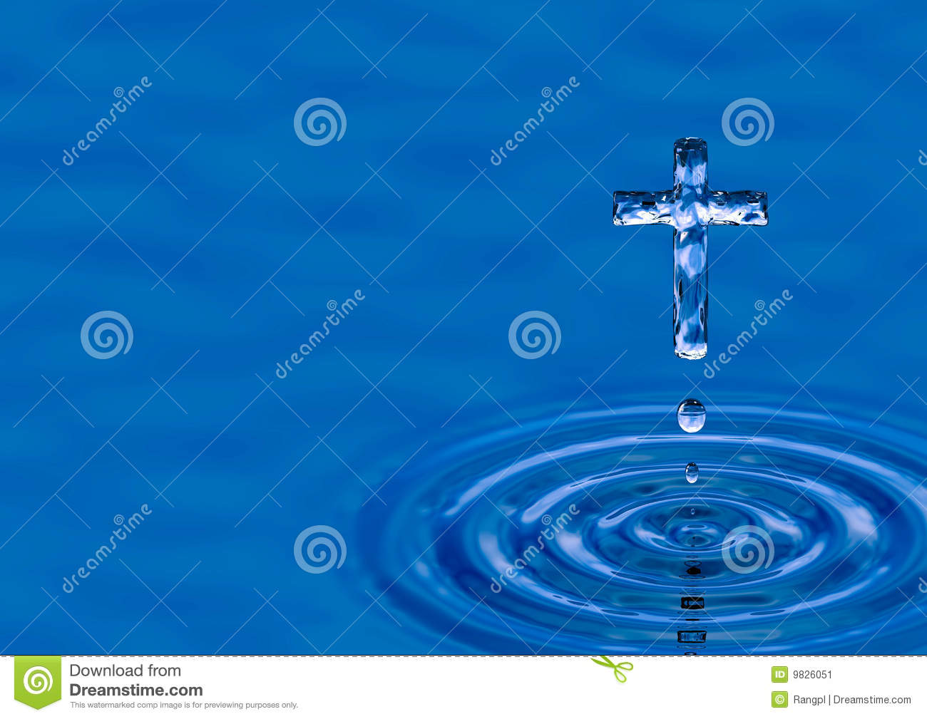 Holy Spirit Water Symbol Holy water cross